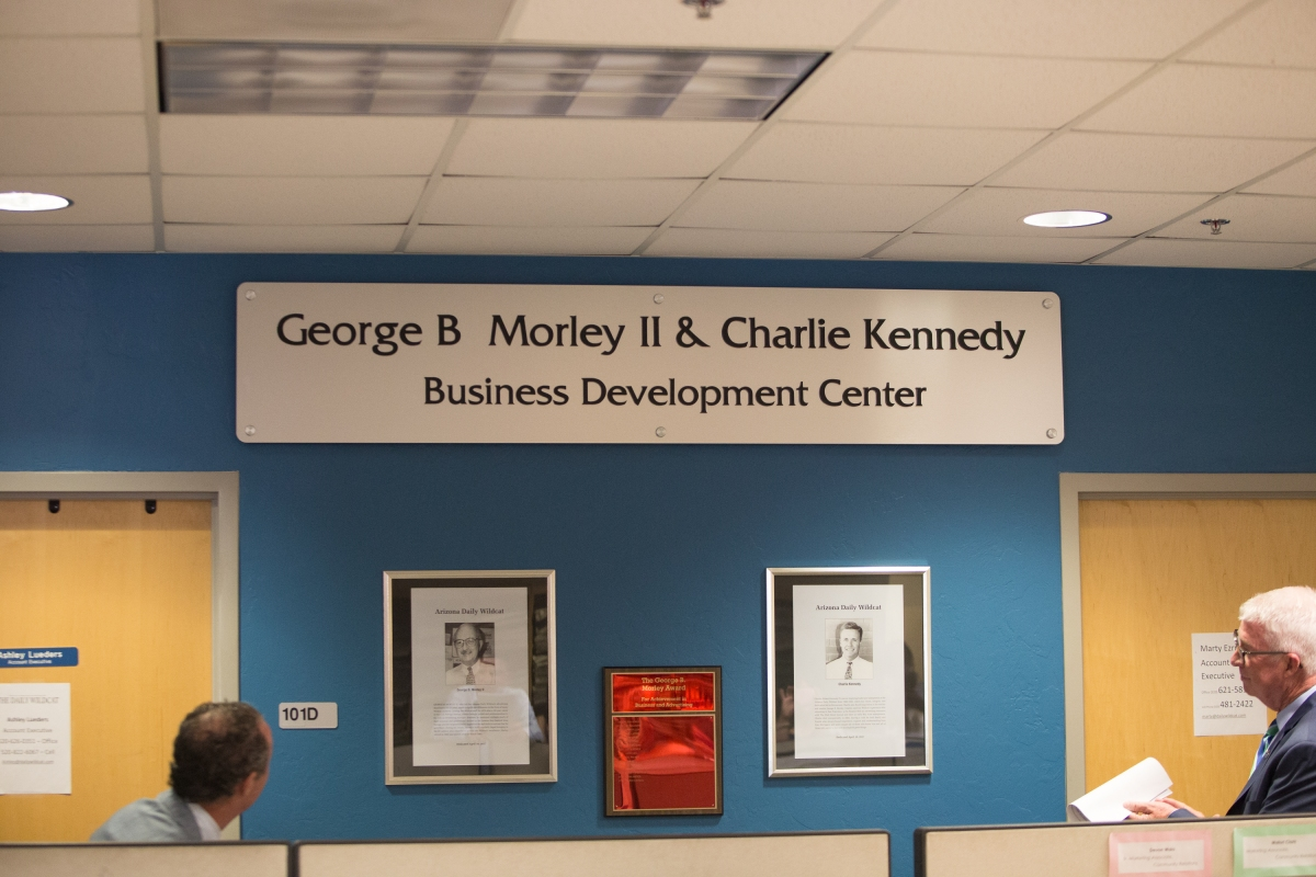 George Morley/Charlie Kennedy Business Development Center Dedication